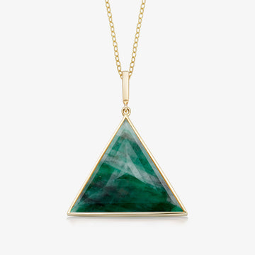 EMERALD ULTIMATE GUARDIAN PENDANT GOLD (LARGE)