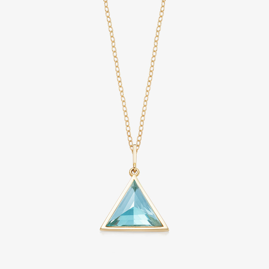 BLUE TOPAZ ULTIMATE GUARDIAN PENDANT GOLD (BABY)