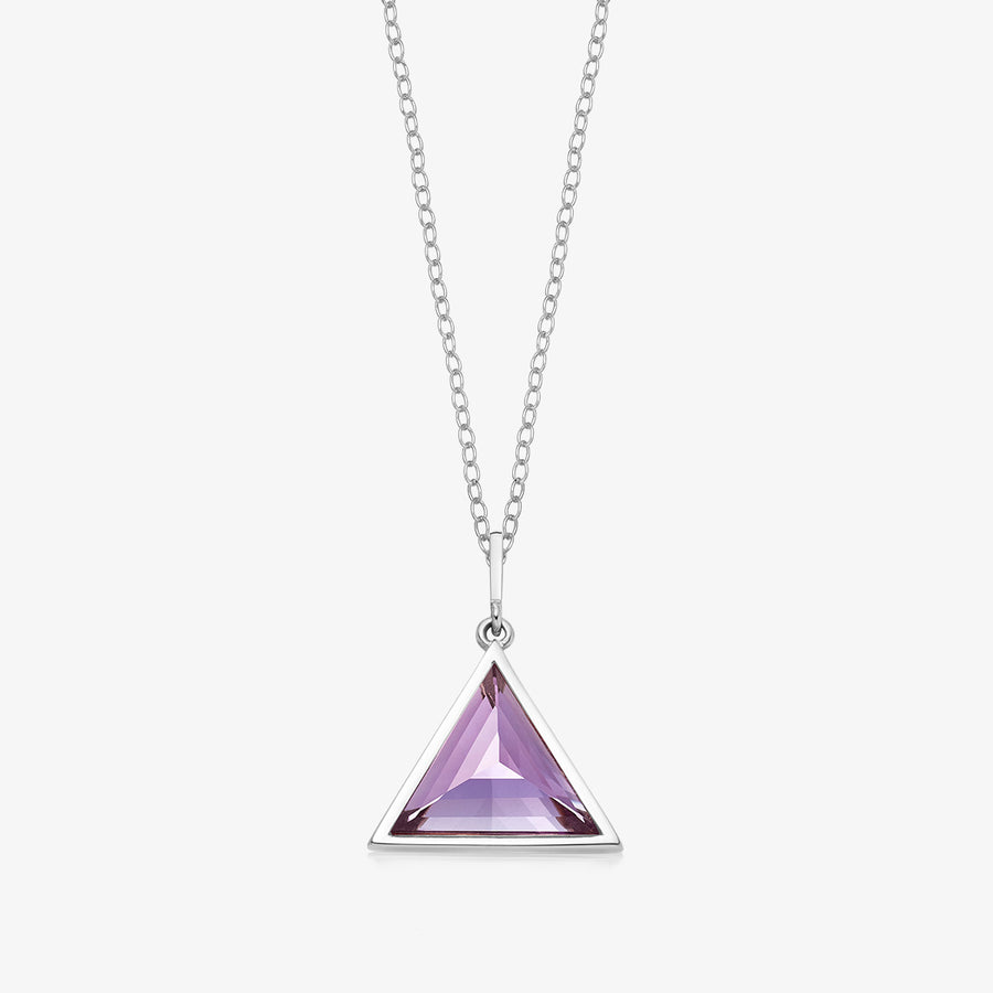 AMETHYST ULTIMATE GUARDIAN PENDANT SILVER (BABY)