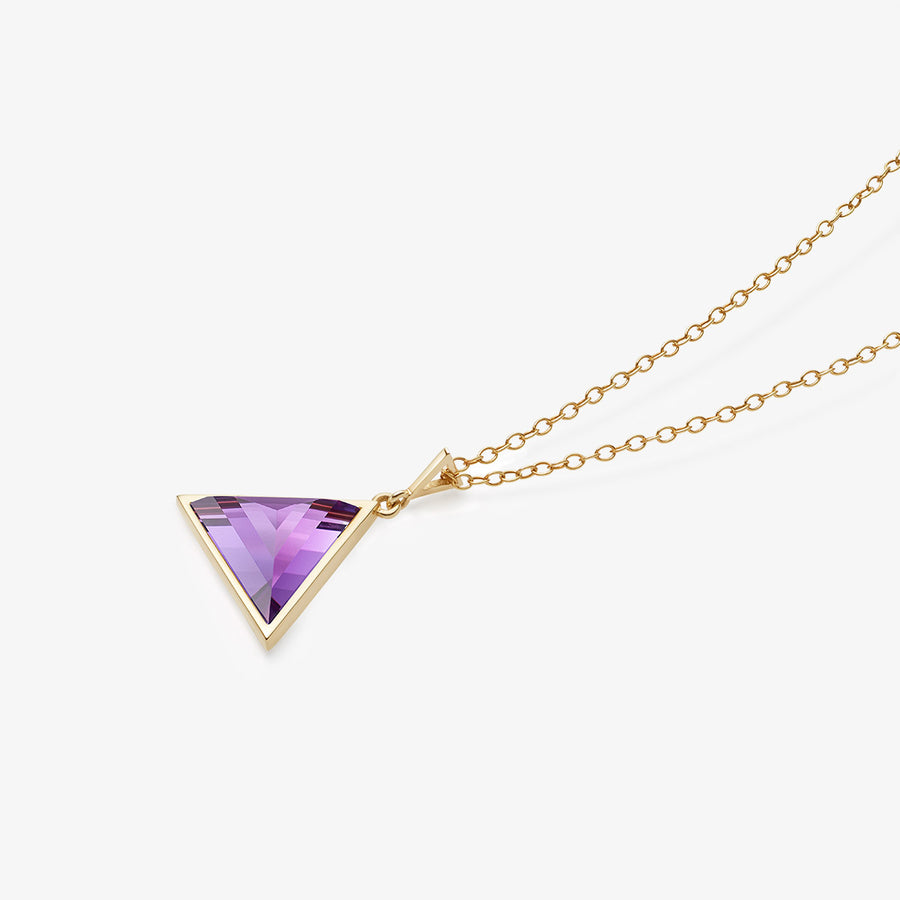 AMETHYST ULTIMATE GUARDIAN PENDANT GOLD (BABY)