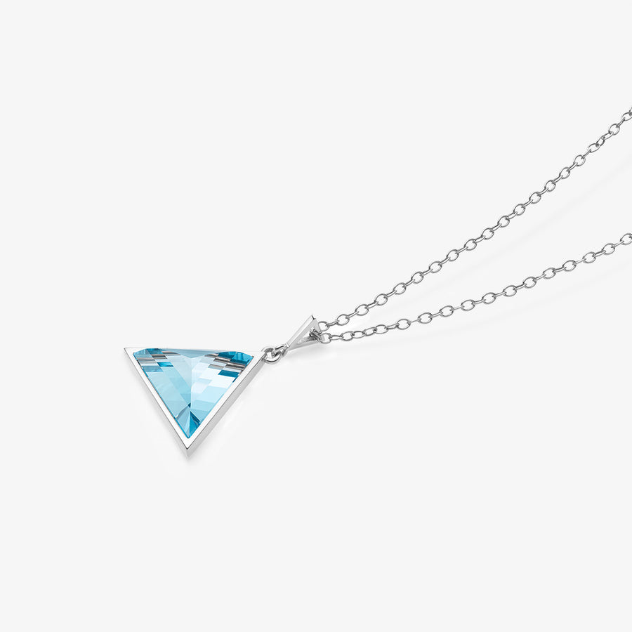 BLUE TOPAZ ULTIMATE GUARDIAN PENDANT SILVER (BABY)
