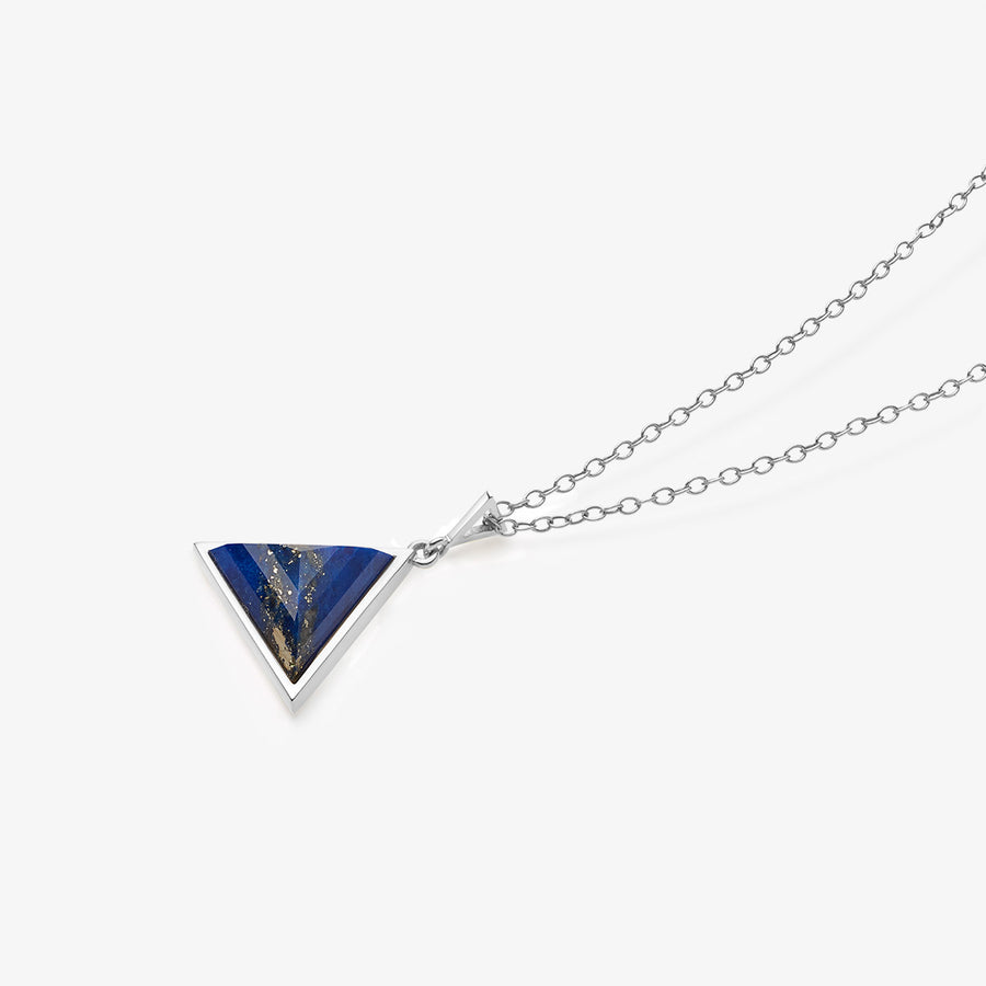 BLUE LAPIS ULTIMATE GUARDIAN PENDANT SILVER (BABY)