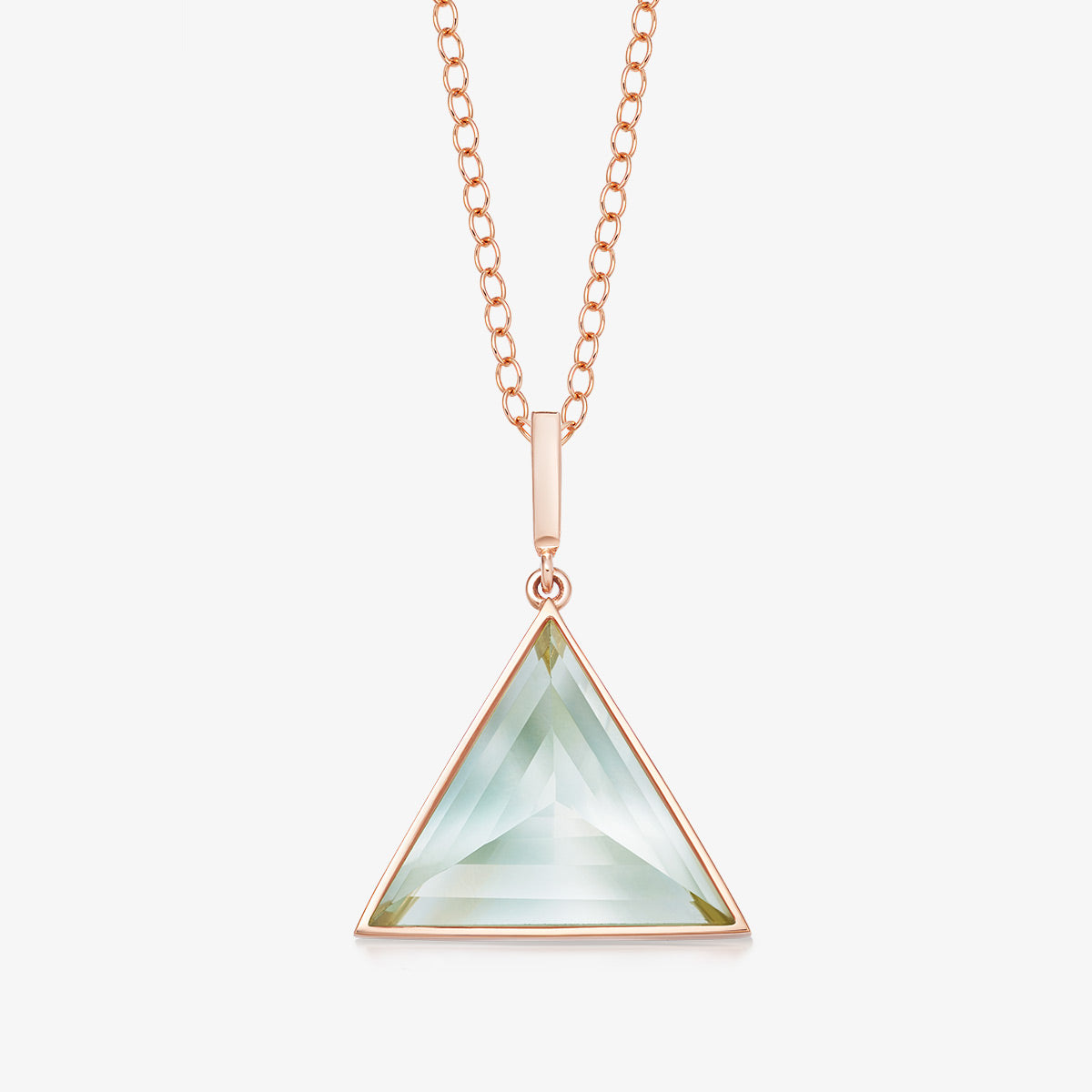 MINT AMETHYST ULTIMATE GUARDIAN PENDANT ROSE GOLD (MEDIUM)
