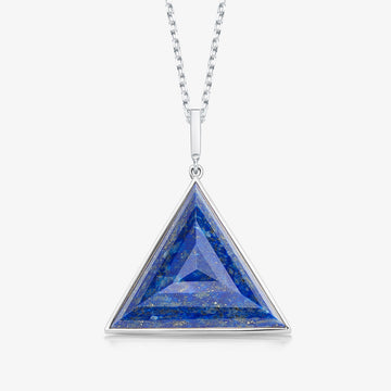 BLUE LAPIS ULTIMATE GUARDIAN PENDANT SILVER (LARGE)