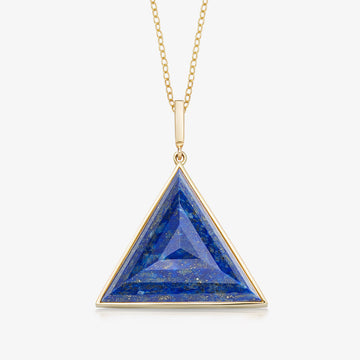 BLUE LAPIS ULTIMATE GUARDIAN PENDANT (GOLD)