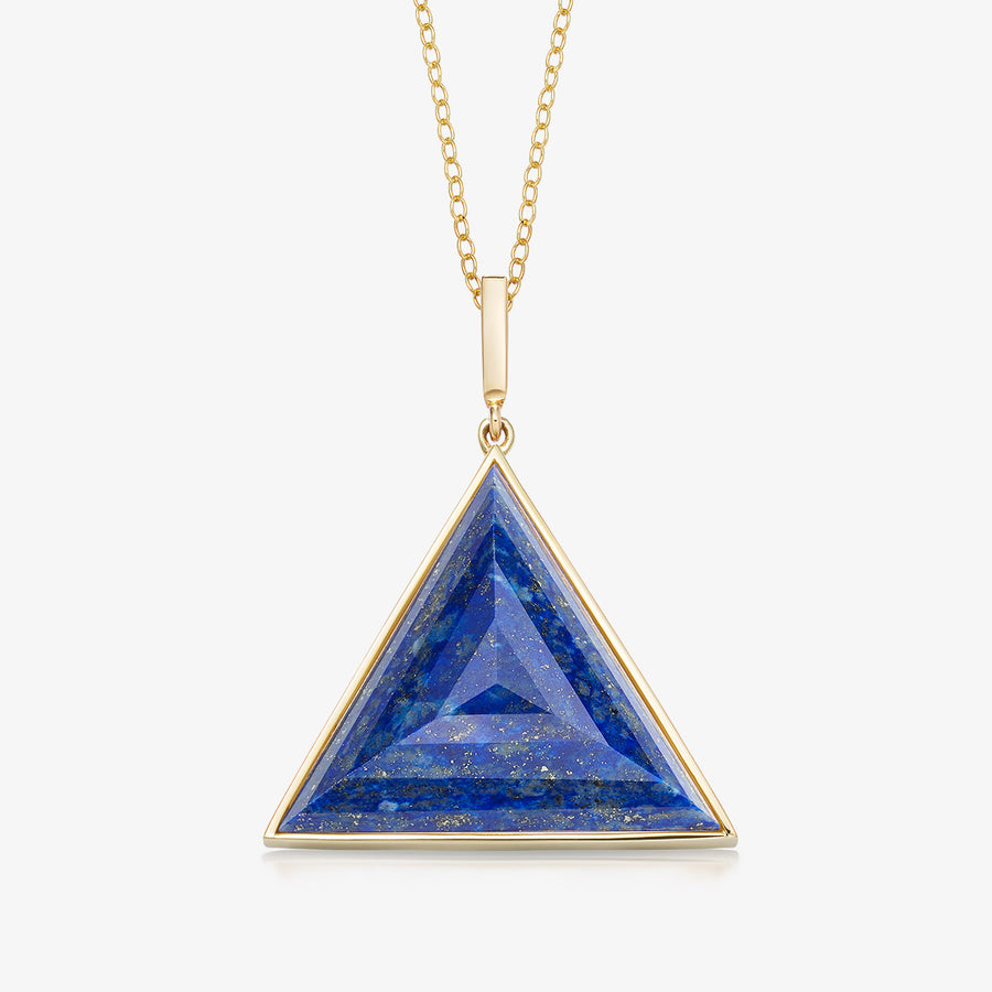 BLUE LAPIS ULTIMATE GUARDIAN PENDANT GOLD (LARGE)