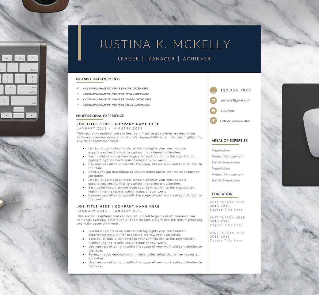 The Classic Resume Template