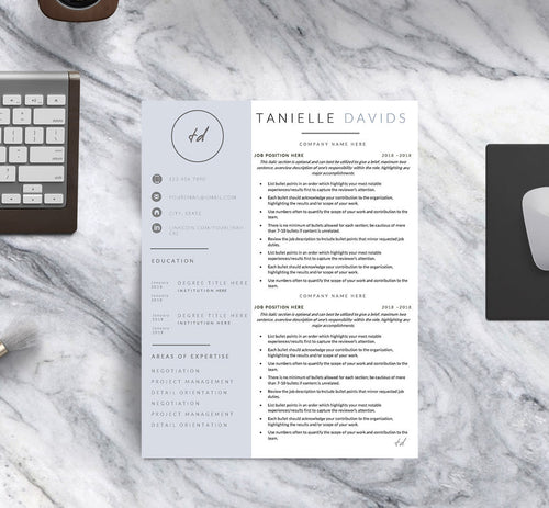 The Designer Resume Template II