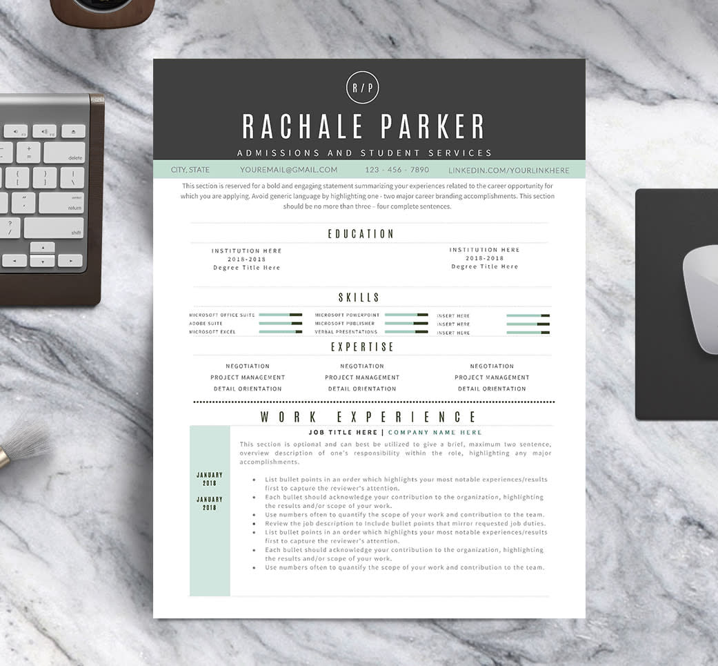 The Modern Resume Template