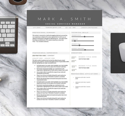 The Professional Resume Template
