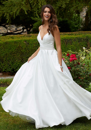Morilee's Dazzling White Gowns