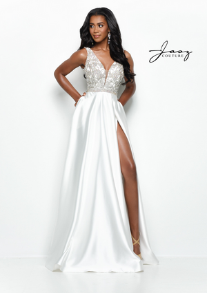 The Wow-Factor in White by Jasz Couture