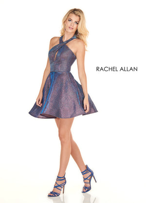 Rachel Allan 4102 prom dress images.  Rachel Allan 4102 is available in these colors: Berry,Deep Rose Gold.