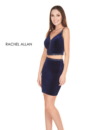 Rachel Allan 4116 prom dress images.  Rachel Allan 4116 is available in these colors: Navy,Marsala.