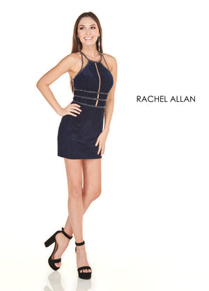 Rachel Allan 4122 prom dress images.  Rachel Allan 4122 is available in these colors: Navy,Marsala.