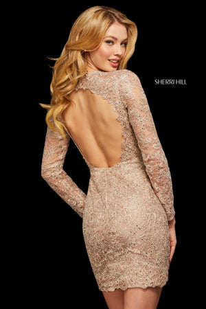 Sherri Hill 53101 prom dress images.  Sherri Hill 53101 is available in these colors: Wine; Navy; Light Blue; Rose; Black.