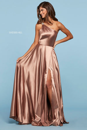 Sherri Hill 53295 prom dress images.  Sherri Hill 53295 is available in these colors: Red, Turquoise, Wine, Navy, Royal, Emerald, Rose, Black, Gold, Ivory, Lilac, Yellow, Light Blue, Mocha.