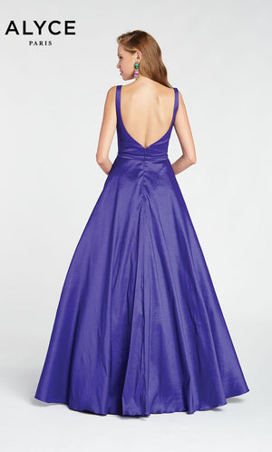 Alyce Paris 1429 prom dress images.  Alyce Paris 1429 is available in these colors: Cobalight,  Sangria,  Deep Water.