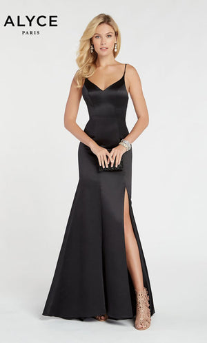 Alyce Paris 60311 prom dress images.  Alyce Paris 60311 is available in these colors: Black.