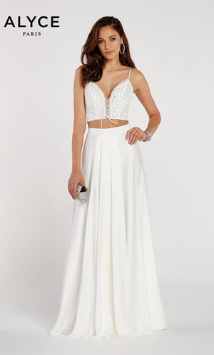 Alyce Paris 60321 prom dress images.  Alyce Paris 60321 is available in these colors: Black.