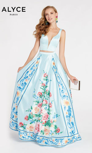Alyce Paris 60421 prom dress images.  Alyce Paris 60421 is available in these colors: Hush.