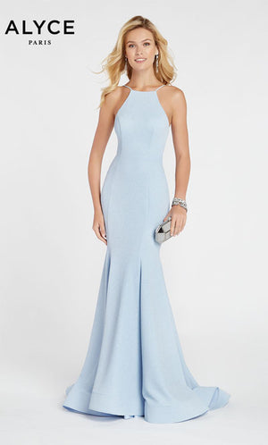 Alyce Paris 60551 prom dress images.  Alyce Paris 60551 is available in these colors: Glacier Blue,  Navy.