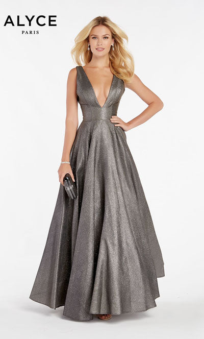 Alyce Paris 60563 prom dress images.  Alyce Paris 60563 is available in these colors: Dripping Diamonds,  Mermaid,  Unicorn Purple,  Santorini Blue.