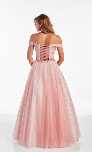 Alyce Paris 60899 prom dress images.  Alyce Paris 60899 is available in these colors: Blush.