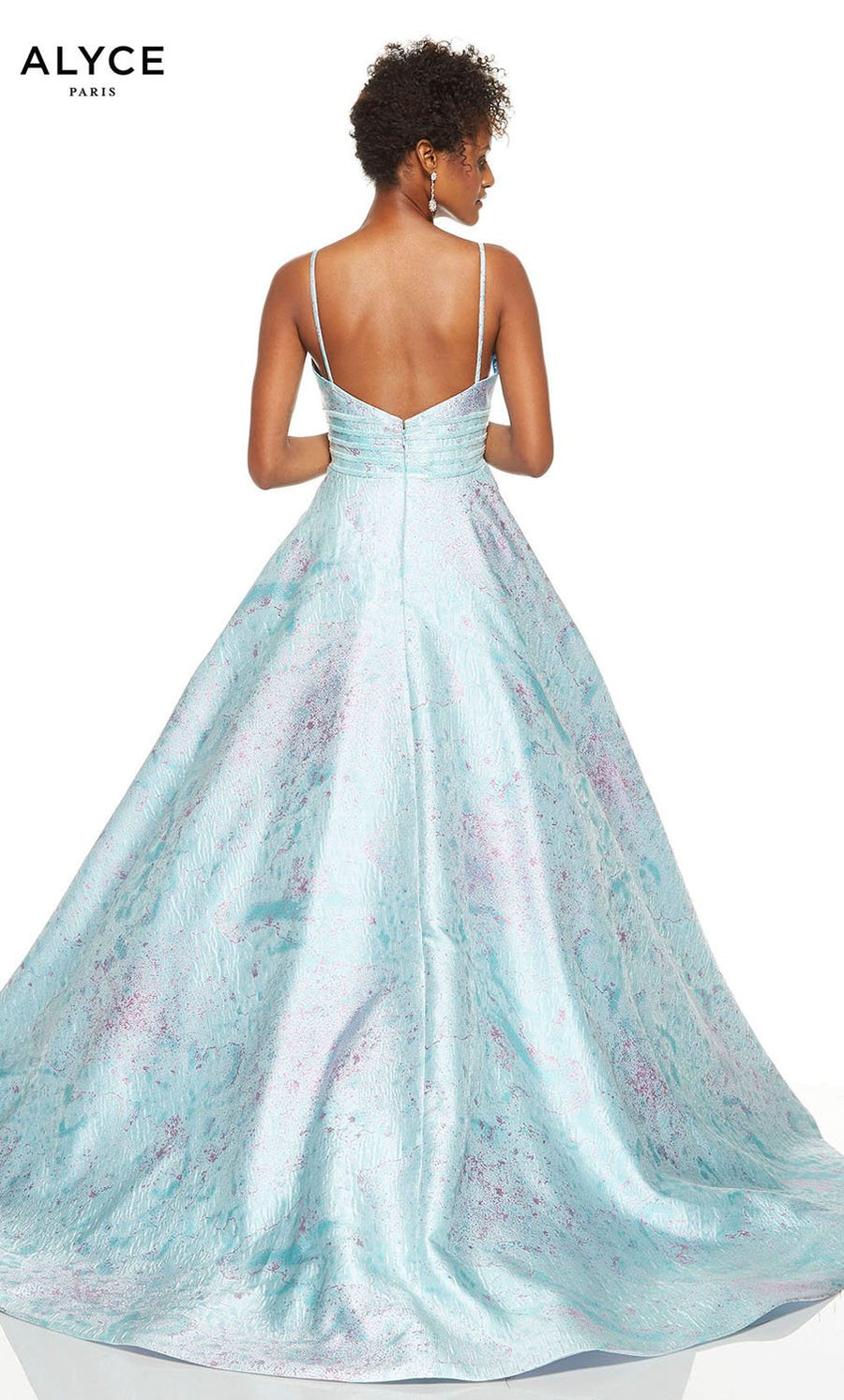 Alyce Paris 1511 prom dress images.  Alyce Paris 1511 is available in these colors: Aqua.