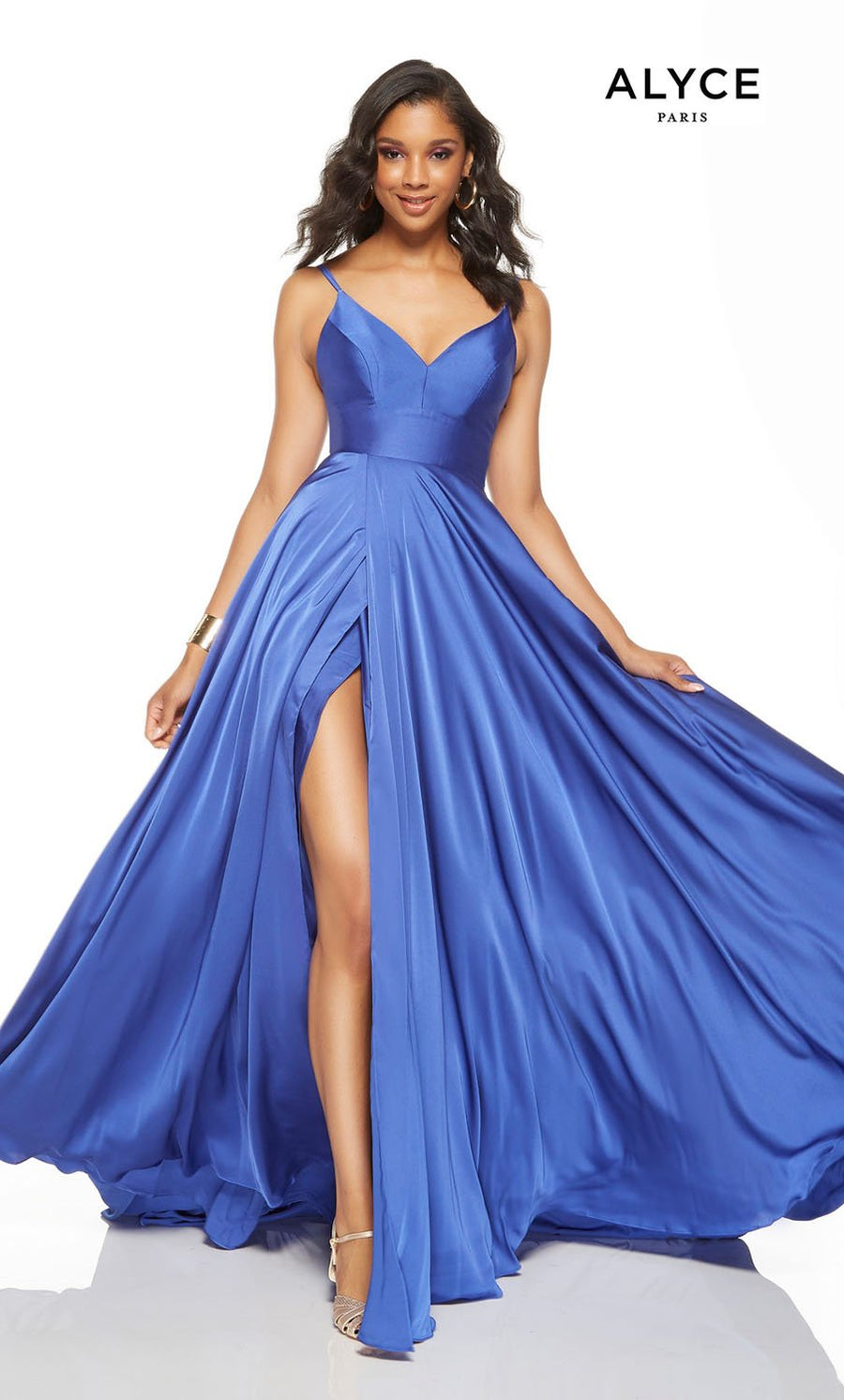 Alyce Paris 1515 prom dress images.  Alyce Paris 1515 is available in these colors: Red, Black, Cobalt, Magenta.