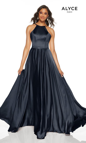 Alyce Paris 1525 prom dress images.  Alyce Paris 1525 is available in these colors: Sultry Blush, Pesto, Midnight.