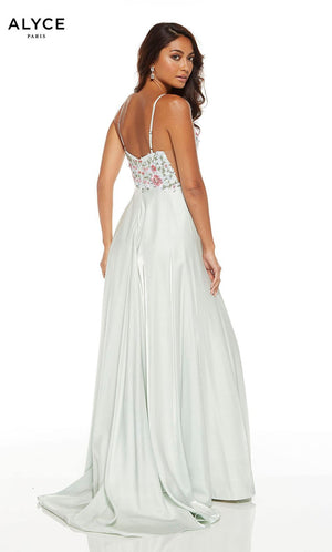 Alyce Paris 1547 prom dress images.  Alyce Paris 1547 is available in these colors: Mist.