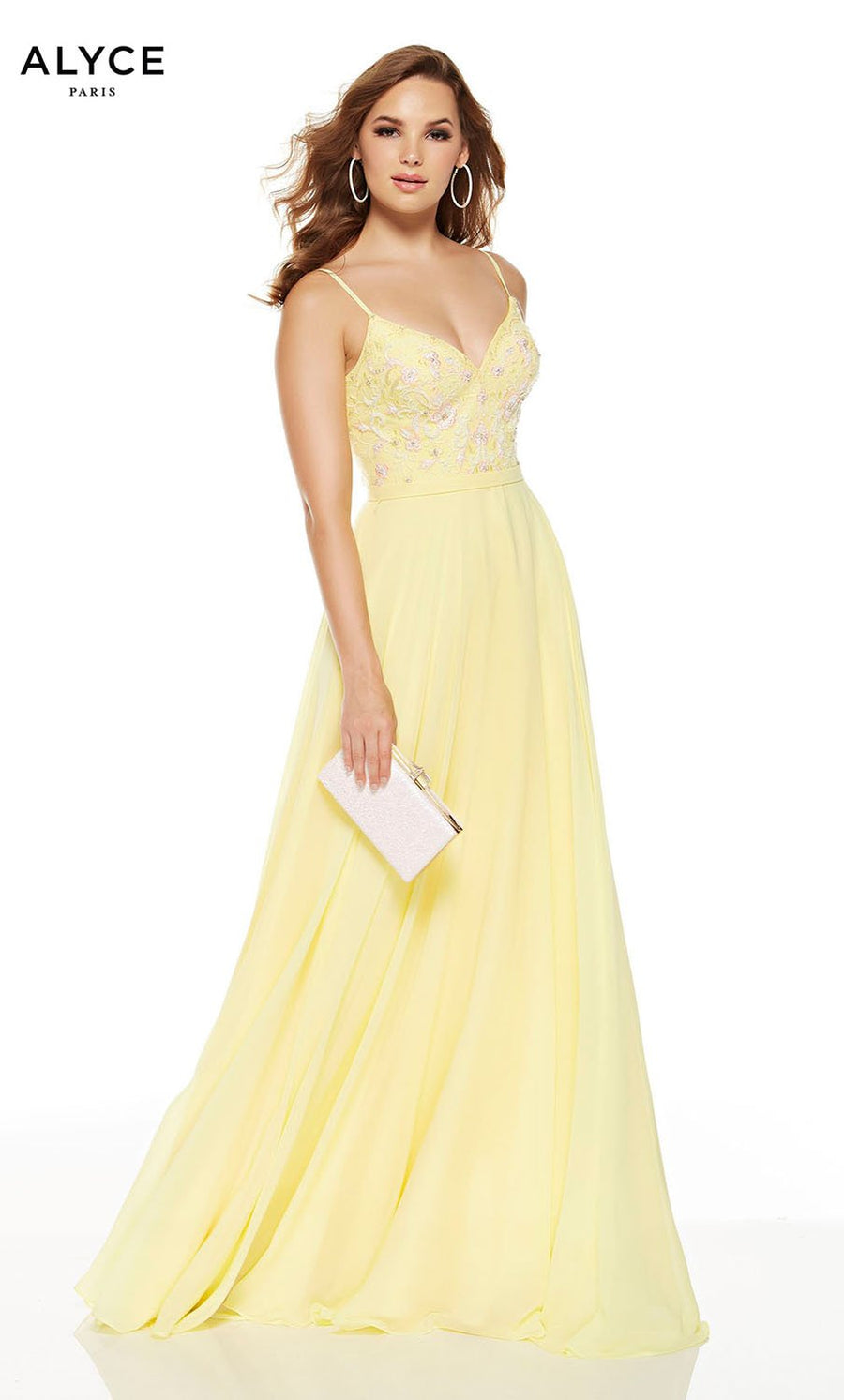 Alyce Paris 1553 prom dress images.  Alyce Paris 1553 is available in these colors: Lemon Drop, Sea Glass, Midnight, Diamond White.
