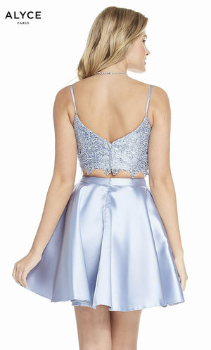 Alyce Paris 3796 prom dress images.  Alyce Paris 3796 is available in these colors: Sapphire, Ultraviolet, Emerald, Black, Raspberry, French Blue, Wine.