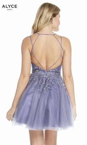 Alyce Paris 3840 prom dress images.  Alyce Paris 3840 is available in these colors: Lavender.