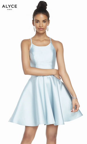 Alyce Paris 3880 prom dress images.  Alyce Paris 3880 is available in these colors: Premier Blue, Sweet Lilac, Claret, Shell, Sunshine, Midnight.
