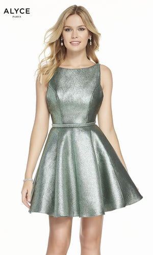 Alyce Paris 3917 prom dress images.  Alyce Paris 3917 is available in these colors: Sea Green.
