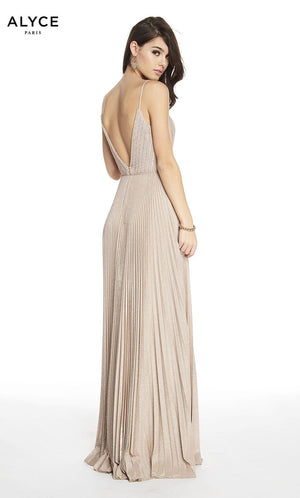 Alyce Paris 60588 prom dress images.  Alyce Paris 60588 is available in these colors: Rosewood.