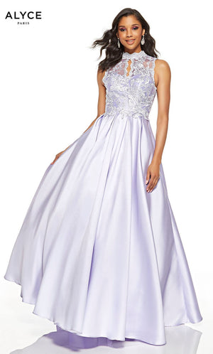 Alyce Paris 60616 prom dress images.  Alyce Paris 60616 is available in these colors: Ice Lilac.
