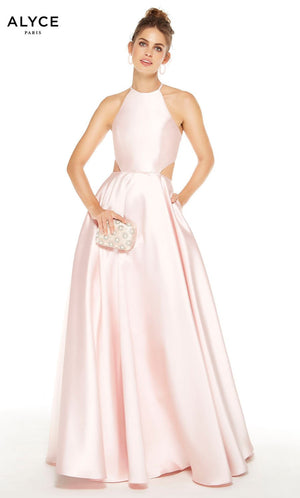 Alyce Paris 60621 prom dress images.  Alyce Paris 60621 is available in these colors: French Pink, French Blue.