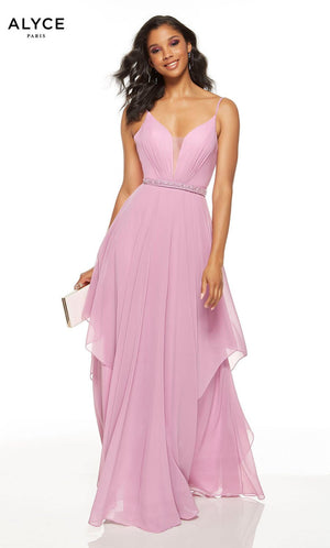 Alyce Paris 60640 prom dress images.  Alyce Paris 60640 is available in these colors: Light Orchid, Midnight.