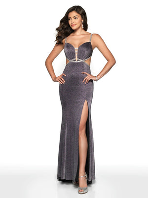 Blush Prom 11701 prom dress images.  Blush Prom 11701 is available in these colors: Charcoal, Mango, Navy, Pewter, Pink Sand.