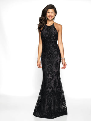 Blush Prom 11703 prom dress images.  Blush Prom 11703 is available in these colors: Black Silver, Ivory Champagne.
