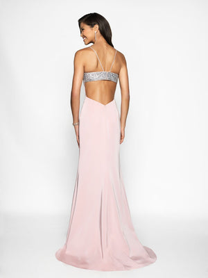 Blush Prom 11716 prom dress images.  Blush Prom 11716 is available in these colors: Amethyst, Pink Sand, Royal.