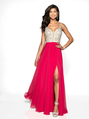 Blush Prom 11719 prom dress images.  Blush Prom 11719 is available in these colors: Amethyst Nude, Berry Red Nude, Powder Blue Nude.