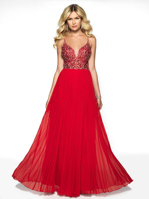 Blush Prom 11721 prom dress images.  Blush Prom 11721 is available in these colors: Amethyst, Red, Royal.