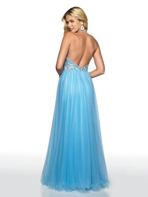 Blush Prom 11723 prom dress images.  Blush Prom 11723 is available in these colors: Iced Pink, Sky.
