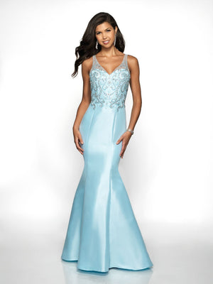 Blush Prom 11724 prom dress images.  Blush Prom 11724 is available in these colors: Mint, Pink Sand, Powder Blue.