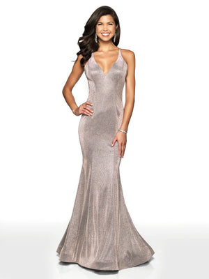 Blush Prom 11726 prom dress images.  Blush Prom 11726 is available in these colors: Champagne Shimmer, Lilac Shimmer, Navy Shimmer.
