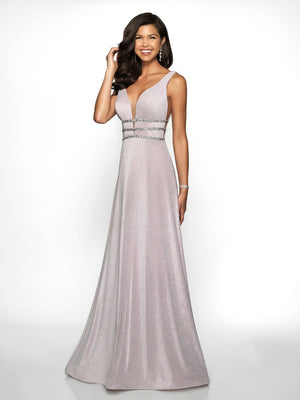 Blush Prom 11727 prom dress images.  Blush Prom 11727 is available in these colors: Black, Emerald, Iced Lilac.